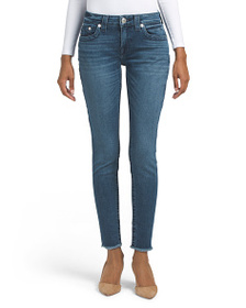 TRUE RELIGION Ankle Jennie In Warm Nights Jeans