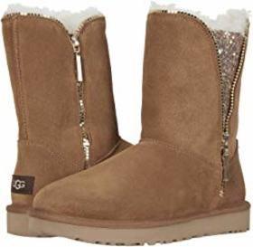 UGG UGG - Classic Zip Boot. Color Chestnut. On sal