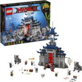 Title: LEGO Ninjago Movie Temple of The Ultimate U