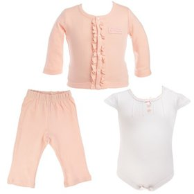 C.R. Gibson (3 Piece) Gift Set For Baby Clothes 0-