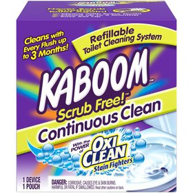 Kaboom Scrub Free! Continuous Clean Toilet Cleanin on sale at Walmart