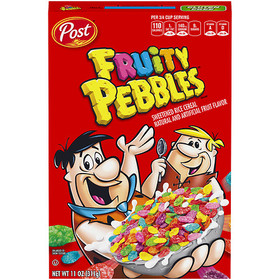 Fruity Pebbles Cereal