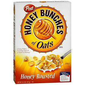 Honey Bunches of Oats Honey Roasted Cereal