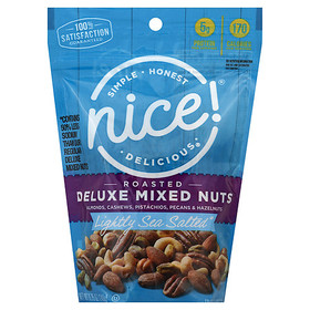Nice! Lightly Salted Deluxe Mixed Nuts