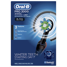 Oral-B Pro 3000 3D White Rechargeable Toothbrush S
