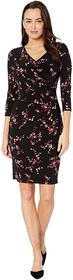 LAUREN Ralph Lauren Printed Matte Jersey-Dress