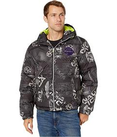 Nautica Competition Printed Puffer Jacket