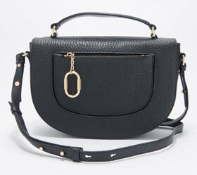 Vince Camuto Pebble Leather Large Crossbody - Alek