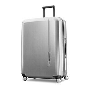 "Samsonite Novaire 28"" Spinner in the color Silver."