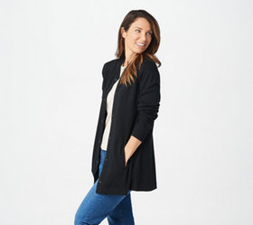 """As Is"" Isaac Mizrahi Live! Essentials Bomber Card"