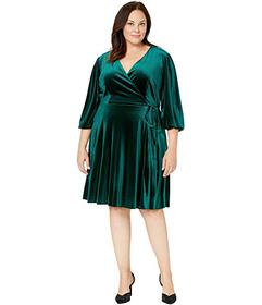 Tahari by ASL Plus Size Wrap Dress
