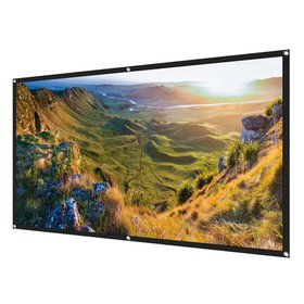 100 inch Projection Screen, 16:9 HD Foldable Anti-