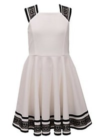 Iris & Ivy Girl's Casual Party Ottoman Skater Dres