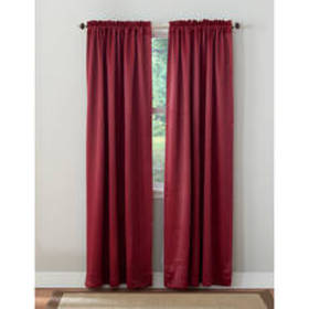 Caden Blackout Rod Pocket Curtain Panel