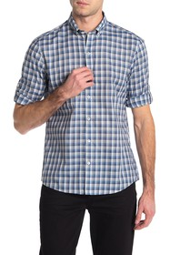 Zachary Prell Cheung Long Sleeve Plaid Regular Fit