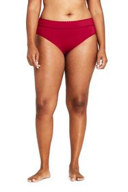 Lands End Women's Plus Size Banded Low Waist Hipst