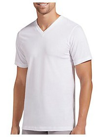 Jockey 3-Pack Classics Slim-Fit V-Neck T-Shirts WH
