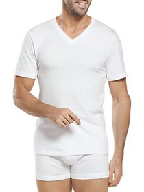 Jockey 2-Pack Big Man Classic Cotton V-Neck T-Shir