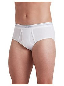 Jockey 3-Pack Big Man Staycool+ Cotton Briefs WHIT