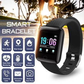 Smart Watch Blood Pressure Heart Rate Activity Fit