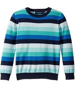 Toobydoo Striped Sweater (Toddler\u002FLittle Kids