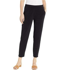 BCBGeneration Flat Front Faux Fly Pants