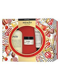 Philosophy Miracles All Year Long 3-Piece Set - $8