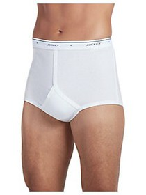Jockey 2-Pack Tall Man Classic Cotton Briefs WHITE