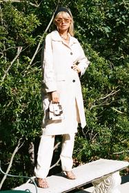Nasty Gal Cream That's Stitch Belted Trench Coat