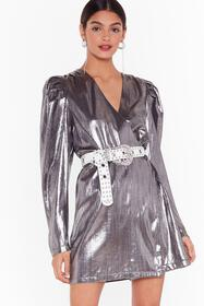 Nasty Gal Silver Nasty Gal Studio Time After Time