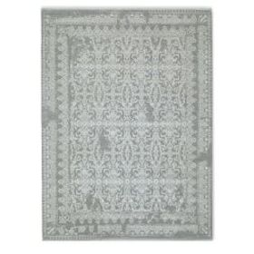 Penelope Hand Knotted Rug, Grey