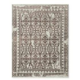 Penelope Hand Knotted Rug, Coffee
