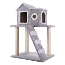 Cat Tree Condo Tower with Scratching Posts Kitty T