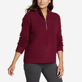 Women's First Light 1/4-Zip Sweater