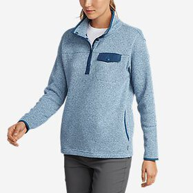 Women's Radiator Fleece Snap Mock Neck