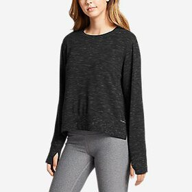Women's Enliven Step Hem Sweatshirt