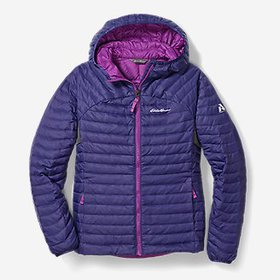 Girls' MicroTherm® Hooded Jacket