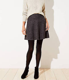 Textured Flippy Skirt