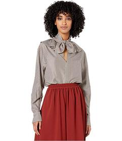 See by Chloe Ruffle Collar Bow Blouse