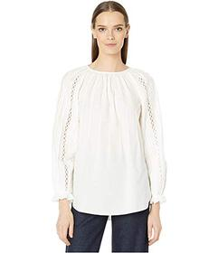 See by Chloe Embroidered Insert Blouse