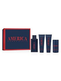 Perry Ellis America 4-Piece Fragrance Gift Set - $