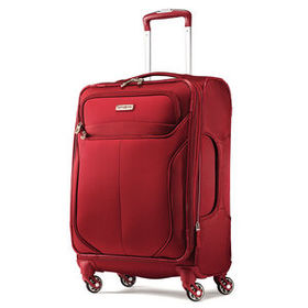 "Samsonite Lift 2 21"" Spinner in the color Red."