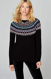 Multicolored Fair Isle Sweater