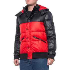 Body Glove Comfort Hooded Down Parka (For Men) in