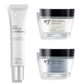No7 Early Defence Skincare System 1.75oz (Worth $6