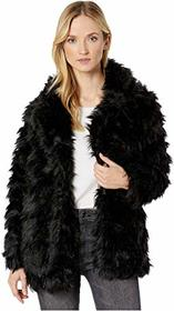 Vince Camuto Shaggy Faux Fur Coat