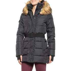 S13/NYC Matte Karlie Down Coat (For Women) in Blac