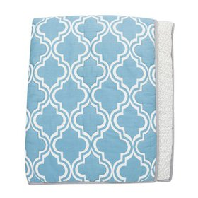 Lambs & Ivy Ryan Collection Reversible Coverlet Qu