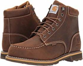 "Carhartt 6"" Waterproof Non-Safety Moc Toe Lug Boot"