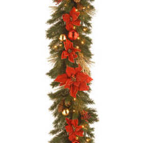 National Tree 9ft. Pre-Lit Decorative Collection S